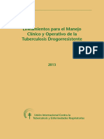 Lineamientos Manejo Clinico TB MDR