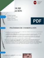 Polimeros de Coordinacion