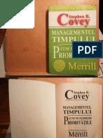 Managementul Timpului - Stephen Covey & Roger Merrill & Rebecca Merrill