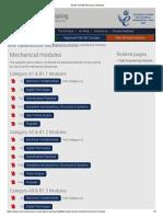 EASA Part 66 Mechanical Modules