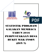 Cover Statistik Program Membaca 2016