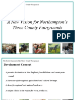 A New Vision for Northampton's Three County Fairgrounds - August 2010