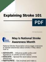 Explaining Stroke 101