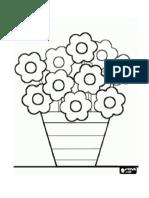 Flor Para Trabajar Con Plasticina