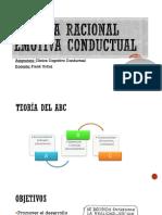 Terapia Racional Emotiva Conductual