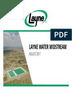 Layne Water Midstream Presentation