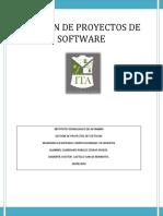 Gestion de Proyectos de Software Unidad 1