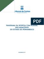 Relatório do TCE-PE sobre gastos com pessoal