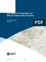 Gis Supports Sustainable Water