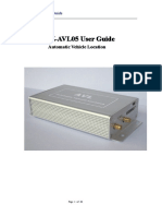 TZ-AVL05 User Guide V3.27