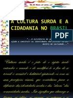 Cultura Surda e Cidadania No Brasil