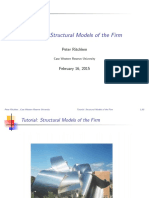 Structural Models of The Firm
