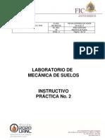 """Procedimiento práctica """"ANÁLISIS GRANULOMÉTRICO, POR CRIBADO"""""""
