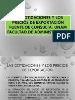 dPrecio Venta vs Precio Exportacion s18
