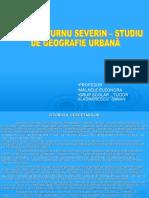 Studiu Geografie Urbana