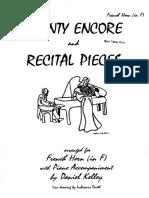 Piezas Para Trompa y Piano
