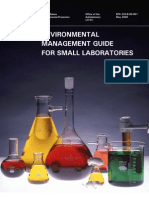 Environmental Management Guide for Small Lab