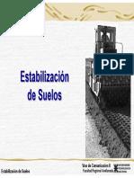 3- Estabilización de Suelos