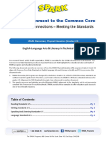4 13 Common Core K 5 Alignments to Literacy