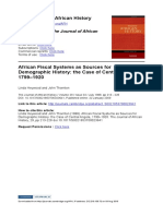 African Fiscal Systems as Sources for Demographic History
