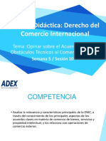 Sesión 10 - Acuerdos claves sobre comercio de bienes OTC
