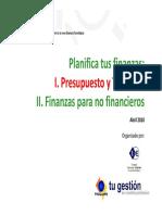 taller de finanzas