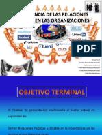 Importancia Relaciones Publicas Organizaciones Presentacion