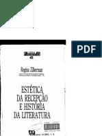 ZILBERMAN, Regina. Estética da Recepção e História da Literatuta.pdf