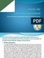 Innovaciones jurisprudenciales penales