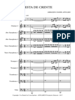 Festa de Crente - Banda Musical - Score and Parts