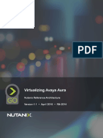 Virtualizing Avaya Aura Nutanix Reference Architecture