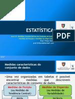 Estatística Aula 03