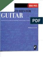 Reading Studies for Guitar-William Leavitt.pdf