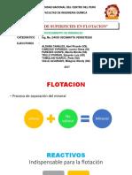 Quimica de Superficies Flotacion