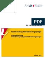 Heilerziehungspflege (FS) - Lehrplan