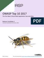Owasp Top 10 2017 Rc2 Final