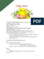 Proiect de Activitate Integrata Mold. Paula
