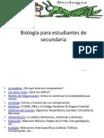 Biología Para Estudiantes de Secundaria