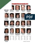 Gabinete de Ministros de Bolivia 2015