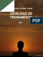 Catalogo Treinamento2017 Consultores