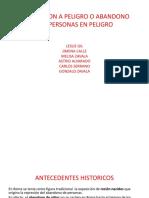 EXPOSICION A PELGRO O ABANDONO DE PERSONAS EN.pptx