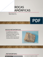 Las Rocas Metamórficas
