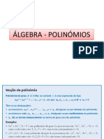 Ppt 3 - Álgebra - Polinómios