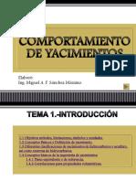 COMPORTAMIENTO DE YACIMIENTOS