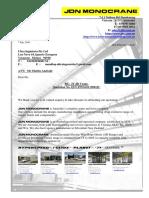 QULTING16115001JC  JDN GRUAS