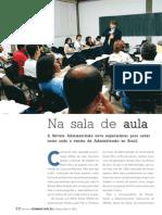 Revista Administração - Na Sala de Aula