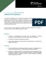 Hoja Informativa_PDE Proyectos - Inicio 20 de Noviembre