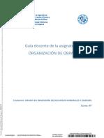 organización en Obra