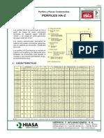 Catálogo de correas para techos metálicos.
