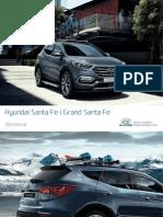 Katalog Akcesoriow Hyundai Santa Fe 2016